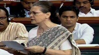 आरटीआई कानून खत्म करना चाहती है सरकार, हर नागरिक कमजोर होगा: सोनिया गांधी