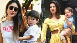Sunny Leone Speaks on Son Asher's Comparison With Kareena Kapoor's Son Taimur Ali Khan