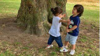 Taimur Ali Khan-Inaaya Naumi Kemmu's Deep Conversation With THIS Pony in London Grabs Fans Attention