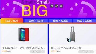 mi Turns 5 Sale: Redmi Go Black+10000mAh Power Bank को 699 रुपये में खरीदें