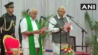 Yediyurappa Begins Spell as Karnataka CM, With New Spelling