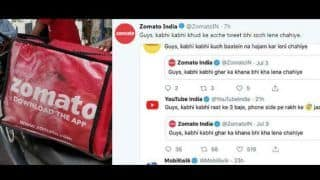 Zomato's Epic Reply to Those Copying Its 'Ghar Ka Khana' Viral Tweet
