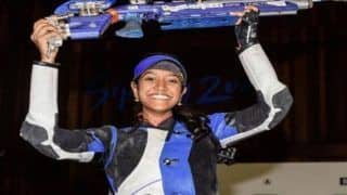 Shooting: India's Elavenil Valarivan Claims Her Maiden World Cup Gold Medal