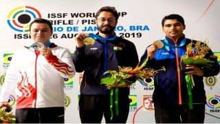 ISSF Shooting World Cup: Abhishek Verma Wins Gold, Saurabh Chaudhary Settles For Bronze in Rio