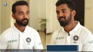 Ajinkya Rahane, KL Rahul, Cheteshwar Pujara And Jasprit Bumrah Give Thumbs up to New Jerseys With Name And Numbers Ahead of 1st Test vs West Indies | WATCH VIDEO