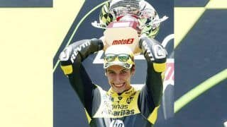 Suzuki's Alex Rins Snatches Victory From Marc Marquez in British MotoGP