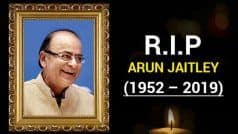 LIVE: BJP Stalwart Arun Jaitley Passes Away, Politicians Rush to Delhi AIIMS