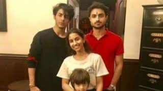 Raksha Bandhan 2019: Shah Rukh Khan's Son Aryan And AbRam Celebrate Rakhi With Cousin Alia Chhiba
