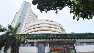 Sensex Tanks 383 Points on F&O Expiry; Nifty Ends Below 11,000