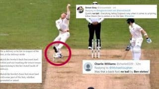 No Ball? Ben Stokes' Delivery to Dismiss Travis Head During Ashes Test Between England-Australia Stirs Massive Controversy | SEE POSTS