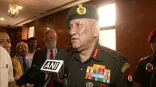 'Army is Always Ready', Says General Bipin Rawat Days After Union Minister Jitendra Singh's Remark on PoK | Watch
