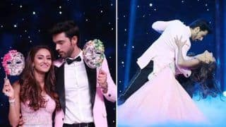 Erica Fernandes-Parth Samthaan Colour Nach Baliye 9's Stage Pink With Love And THESE Pictures Are Proof!