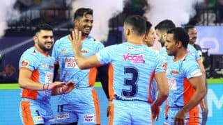 Dream11 Team Bengal Warriors vs Telugu Titans Pro Kabaddi League 2019 - Kabaddi Prediction Tips For Today's PKL Match 38 BEN vs TEL at EKA Arena by Transstadia, Ahmedabad
