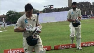 New Zealand Finish Day Three at 195/7 to Take Lead of 177 Against Sri Lanka in First Test