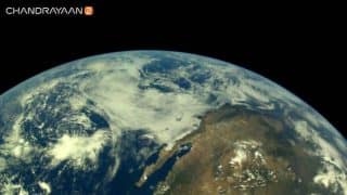 Chandrayaan-2: ISRO shares photos of the Earth captured by the spacecraft