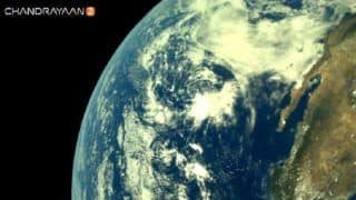 ISRO Shares First Images of Earth as Captured by Chandrayaan-2