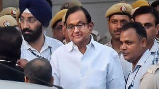 INX Media Case: P Chidambaram's Judicial Custody Extended Till October 17