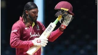Gayle Takes Break From Cricket, Opts Out of ODI Series Against India