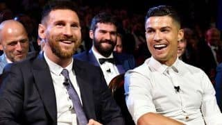 Cristiano Ronaldo Opens up About His Rivalry With Lionel Messi, Says Look Forward to Have Dinner With Argentine Legend | WATCH VIDEO