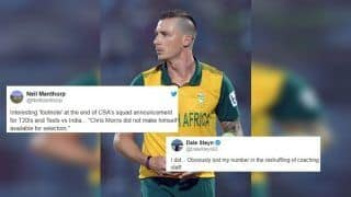 Dale Steyn Takes a Cheeky Jibe at CSA After Non-Selection For India Tour | SEE POST