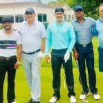 MS Dhoni Enjoys Golf With Kedar Jadhav in US on National Sports Day