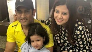 Dream11 IPL: MS Dhoni's Wife Sakshi Reacts as CSK Skipper Makes Winning Comeback Against MI