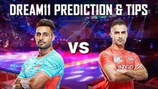 Dream11 Team Bengal Warriors vs U Mumba Pro Kabaddi League 2019 - Kabaddi Prediction Tips For Today's PKL Match 32 BEN vs MUM Steelers at Patliputra Indoor Stadium, Patna