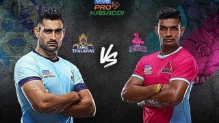 Dream11 Team TAM vs JAI Pro Kabaddi League 2019 - Kabaddi Prediction Tips For Today's PKL Match 52 Tamil Thalaivas vs Jaipur Pink Panthers at Jawaharlal Nehru Indoor Stadium, Chennai