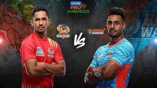 Dream11 Team GUJ vs BEN Pro Kabaddi League 2019 - Kabaddi Prediction Tips For Today's PKL Match 41 Gujarat Fortunegiants vs Bengal Warriors at EKA Arena by TransStadia in Ahmedabad