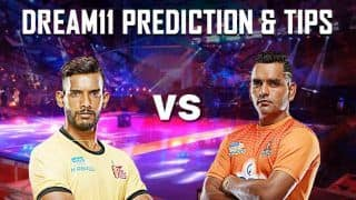 Dream11 Team HYD vs PUN Pro Kabaddi League 2019 - Kabaddi Prediction Tips For Today's PKL Match 65 Telugu Titans vs Puneri Paltan at Thyagaraj Sports Complex, Delhi