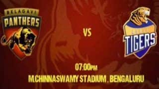 Dream11 Team Belagavi Panthers vs Hubli Tigers Karnataka Premier League 2019 - Cricket Prediction Tips For Today's KPL T20 Match 11 BP vs HT at M.Chinnaswamy Stadium, Bengaluru