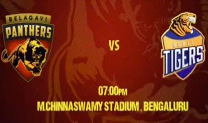 Dream11 Team Belagavi Panthers vs Hubli Tigers Karnataka