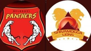 Dream11 Team Belagavi Panthers vs Shivamogga Lions Karnataka Premier League 2019 - Cricket Prediction Tips For Today's KPL T20 Match 16 BP vs SL at M.Chinnaswamy Stadium, Bengaluru
