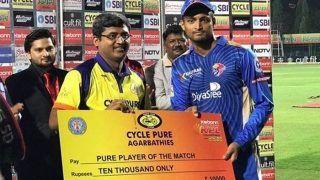 Dream11 Team Bengaluru Blasters vs Shivamogga Lions Karnataka Premier League 2019 - Cricket Prediction Tips For Today's KPL T20 Match 9 BB vs SL at M.Chinnaswamy Stadium, Bengaluru