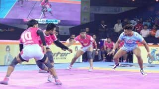 Dream11 Team JAI vs PUN Pro Kabaddi League 2019 - Kabaddi Prediction Tips For Today's PKL Match 42 Jaipur Pink Panthers vs Puneri Paltan at EKA Arena by TransStadia in Ahmedabad