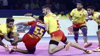 Dream11 Team MUM vs GUJ Pro Kabaddi League 2019 - Kabaddi Prediction Tips For Today's PKL Match 22 U Mumba vs Gujarat Fortunegiants at Dome@NSCI SVP Stadium in Mumbai