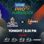 Dream11 Team TN vs MUM Pro Kabaddi League 2019 - Kabaddi Prediction Tips For Today's PKL Match 55 Tamil Thalaivas vs U Mumba at Jawaharlal Nehru Indoor Stadium, Chennai