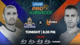 Dream11 Team TN vs MUM Pro Kabaddi League 2019 - Kabaddi Prediction Tips For Today's PKL Match 55 Tamil Thalaivas vs U Mumba at Jawaharlal Nehru Indoor Stadium, Chennai