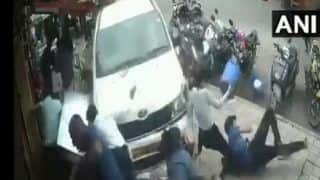 Bengaluru: Drunk Man Runs Over Pedestrians in HSR Layout, 7 Injured | Watch