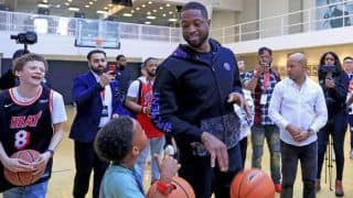 Want Indian Players to be NBA Stars: Miami Heat's Dwyane Wade