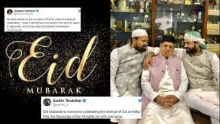 Eid-Al-Adha: Sachin Tendulkar to Gautam Gambhir, How Cricketers Hoped For Peace And Prosperity on Auspicious Occasion | SEE POSTS