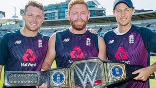 World Cup Champions England Receive Customised WWE Championship Belt
