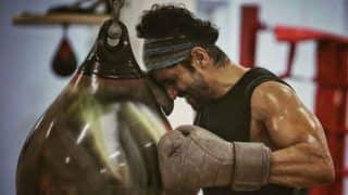Farhan Akhtar Looks Ready to Cry? Gives Sneak-Peek Into Training Session For Toofan And Fans Can't Stop Gushing!