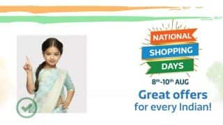 Flipkart National Shopping Days event scheduled to start from August 8; top deals teased