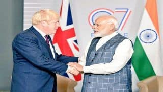 G7 Summit: PM Modi Discusses Trade, Defence, Innovation With British PM Boris Johnson