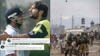 Gautam Gambhir Roasts Shahid Afridi Over His Comments on J&K Issue And UN's Mistake, Reminds Him of Pakistan Occupied Kashmir | SEE POSTS