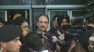 'If Everything is Normal in J&K, Then Why am I Not Allowed to go Home': Ghulam Nabi Azad