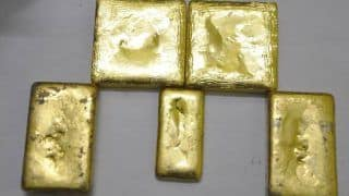 Two Held at IGI Airport With Gold Bars Worth Nearly Rs 3 Crore