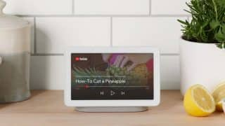 Google Nest Hub with 7-inch display launched in India, priced at Rs 9,999