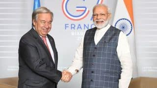 Kashmir Issue: Antonio Guterres Tells Narendra Modi All Sides Should Avoid Escalation